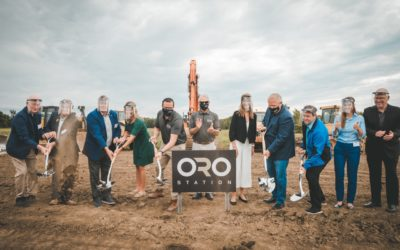 Groundbreaking ceremony kicks off construction of Oro Station Automotive Innovation Park